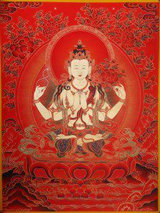 Tjenresig puja med Lama Changchub