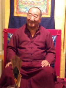 Lakha Lama underviser i 'De Seks Paramitaer'
