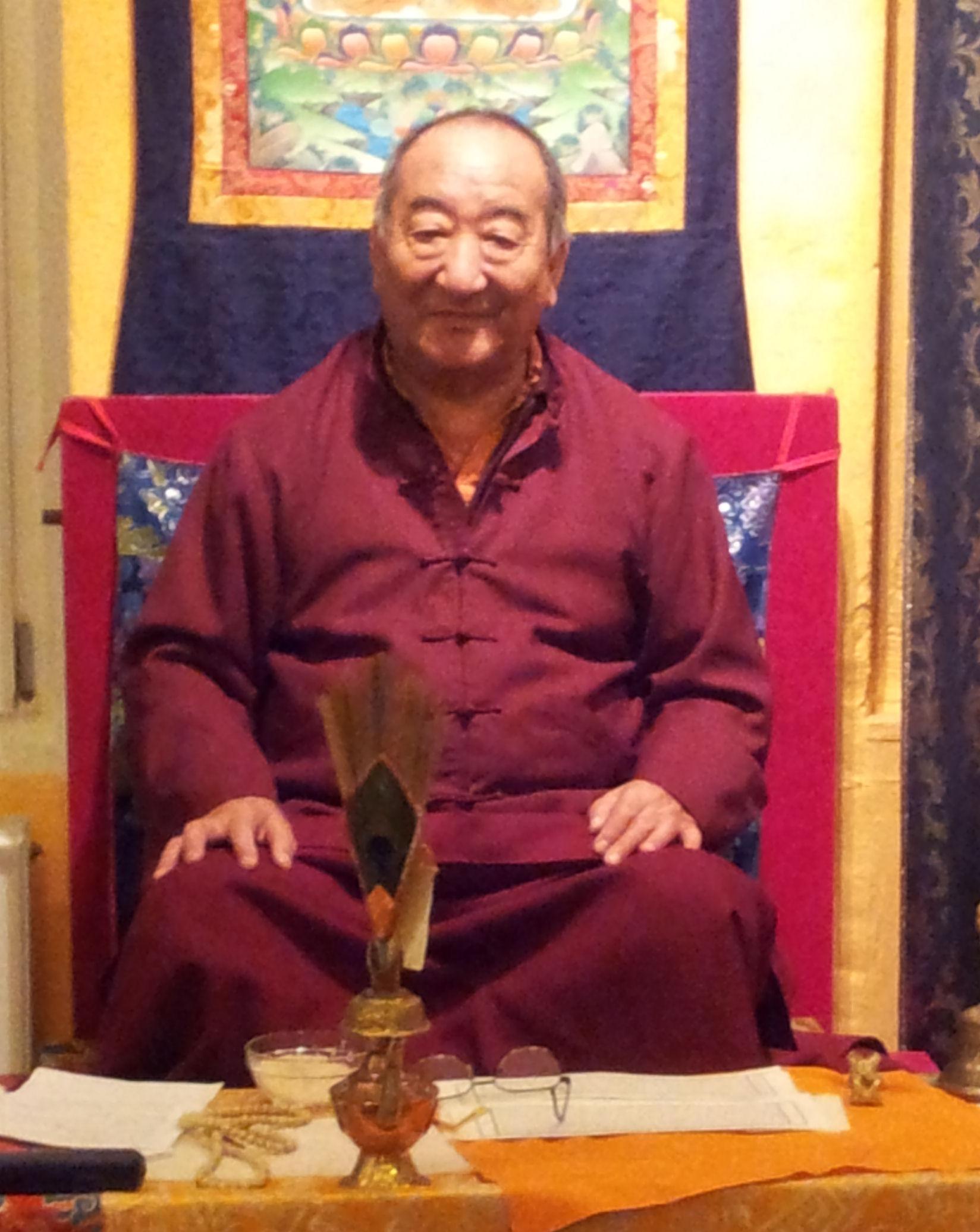 Lakha Rinpoche jan. 2014