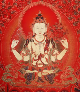 Tjenresig puja - fælles bøn