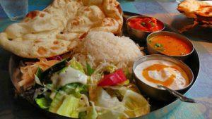 Fælles vegansk og vegetarisk spisning