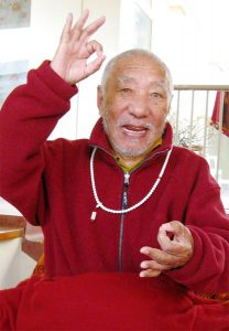 Film m. Khenpo Rinpoche m. Birgit Scott