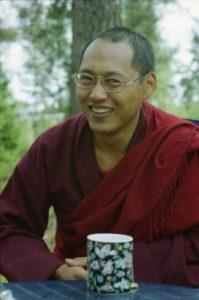 Kursus med Lama Changchub