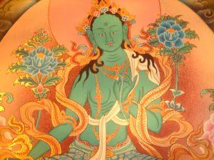 Aflyst: Undervisning i Grøn Tara Puja med Christian Scott