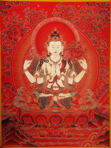 Tjenresig puja - fælles bøn hver søndag