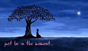Stille meditation hver mandag